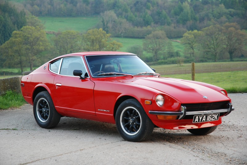 1972 Datsun 240Z sold for £20,160
