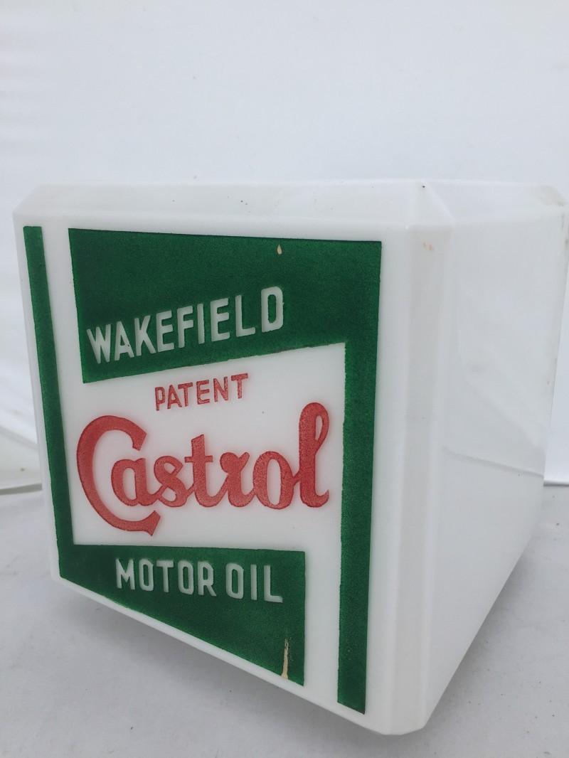 Large Castrol oil globe sold for £2,400 (inc. premium)